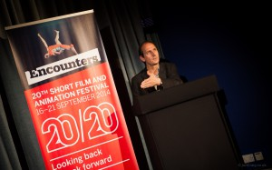 David Sproxton at Encounters 2014 Award Ceremony