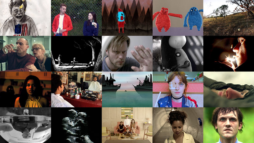 Compilation of images from shortlisted films 2017