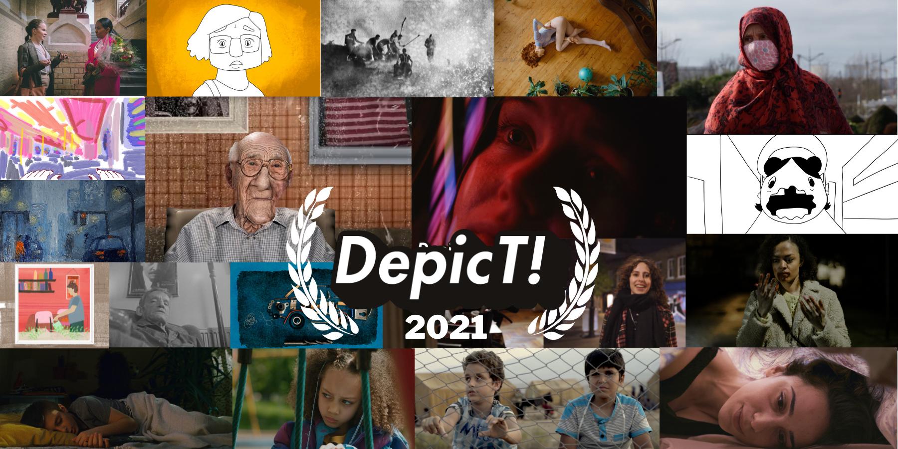 Depict 2021 shortlist montage